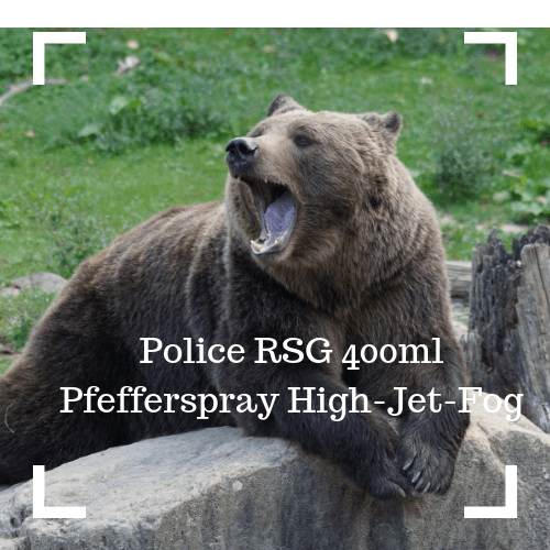 Police RSG 400ml Pfefferspray High-Jet-Fog